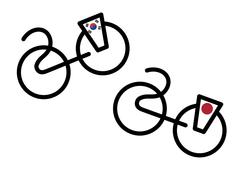 logo zuidkorea japan
