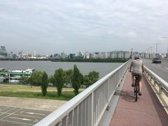 Bridge over the Han-river, Seoul