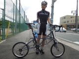 Even the size of a racing bike can be adapted: a folding racing bike (see below)