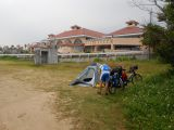 Campsite at Kana Beach on Okinawa