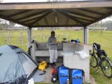 Campsite at Okinawa